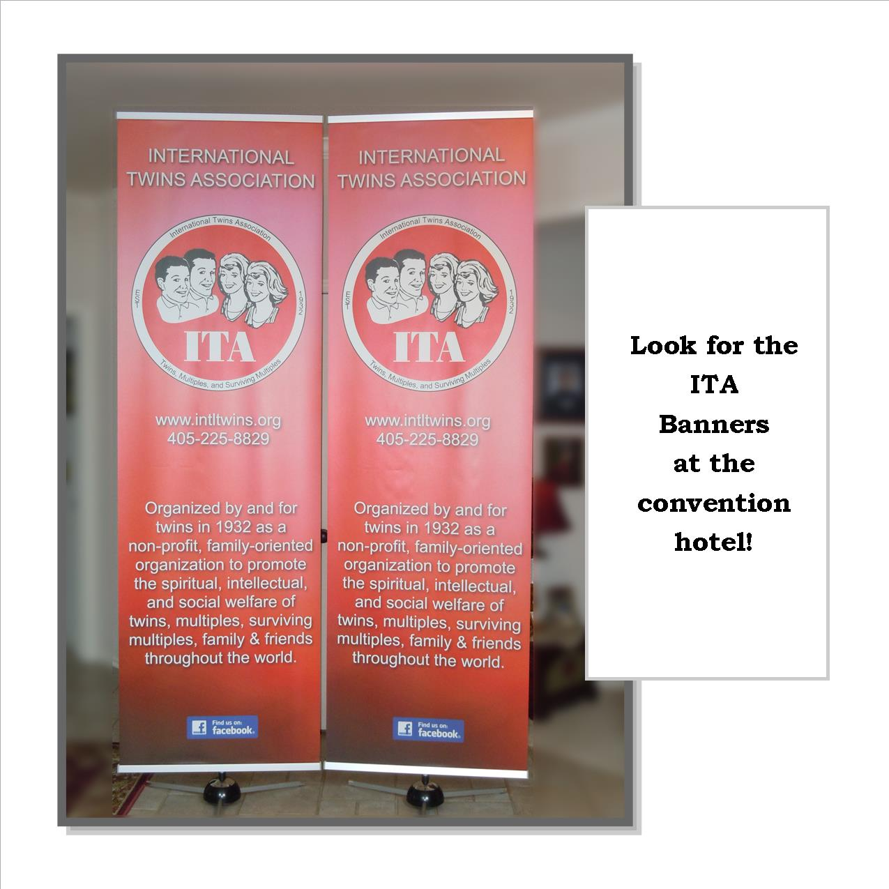 ITA Banners with insert wording